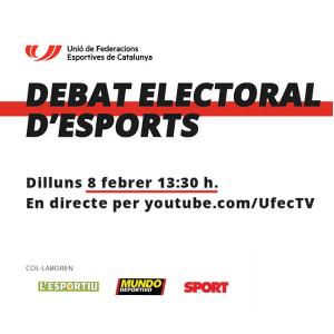 DEBAT ELECTORAL D'ESPORTS